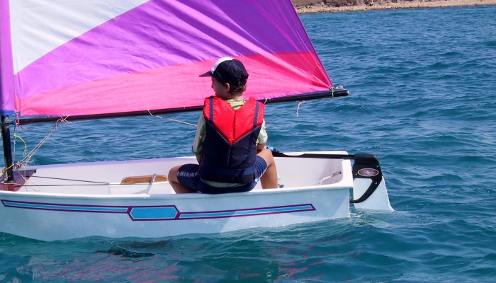Dotan's rudder will make your Optimist sailing experience much more enjoyable.