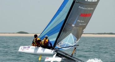 18-ft catamaran - Bimare Javelin 2.