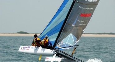 18-ft catamaran - Bimare Javelin 2.