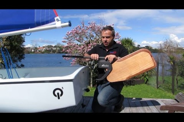 Dotan Kick-Up Rudder in New Zealand
