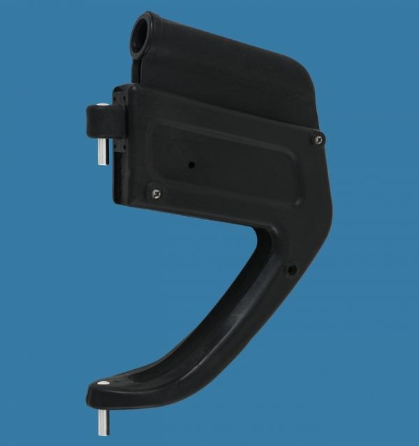 Rudder box 25/AS with pins Ø8mm or Ø10mm