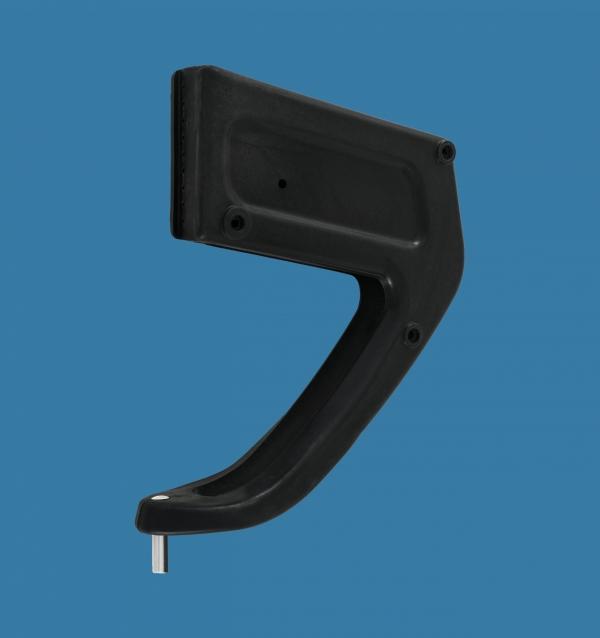 Rudder box 25 with pin Ø8mm or Ø10mm