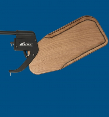 Dotan's Kick-Up Rudder for Optimist, Wooden blade, racing version.