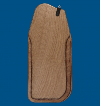 Optimist blade made of plywood, Adapter - polyamide