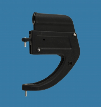 Rudder box 20/AS with pins Ø8mm